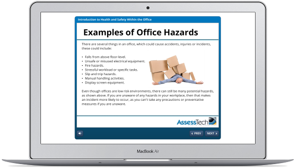 Arbeitsschutz für Büroarbeitsplätze