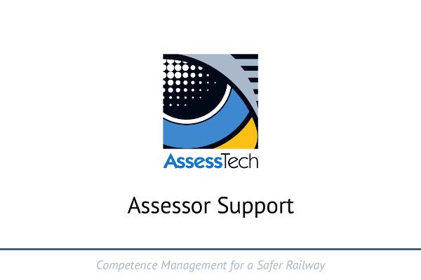Assessor Support – Standardisation session