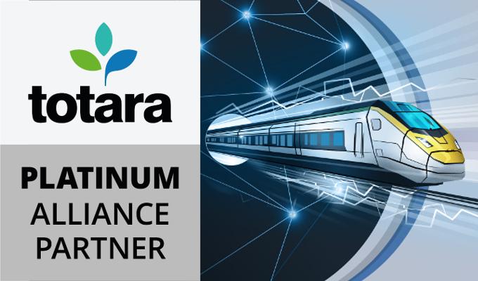 Totara Platinum Alliance Partner award
