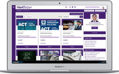 Heathrow Rail enjoying a blended learning experience using AssessBook